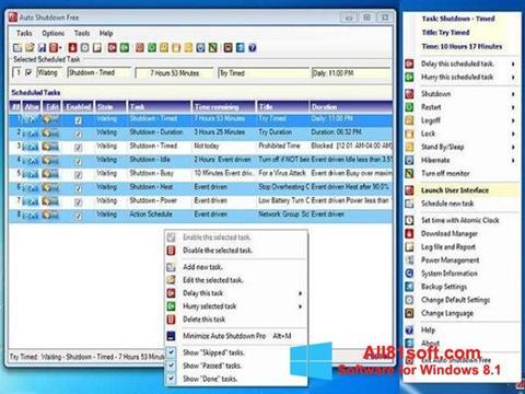 Screenshot Auto ShutDown Windows 8.1