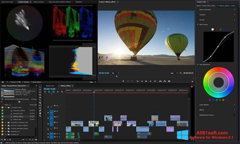 Screenshot Adobe Premiere Pro Windows 8.1