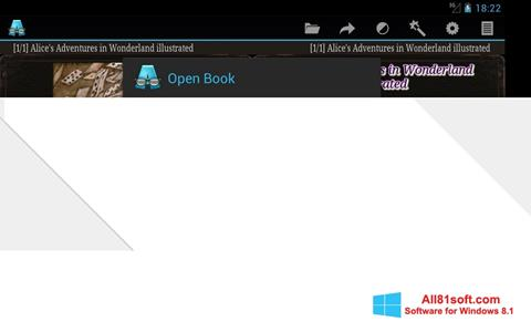 Screenshot AlReader Windows 8.1