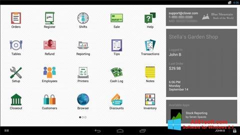 Screenshot Clover Windows 8.1
