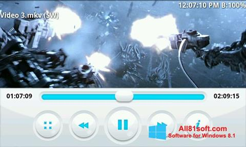 Screenshot BSPlayer Windows 8.1