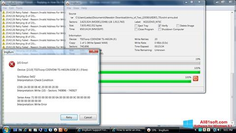 Screenshot ImgBurn Windows 8.1