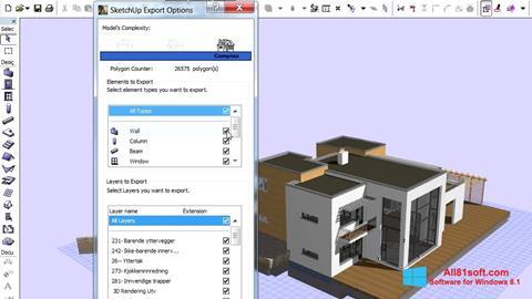Screenshot ArchiCAD Windows 8.1