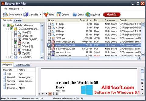 Screenshot Recover My Files Windows 8.1