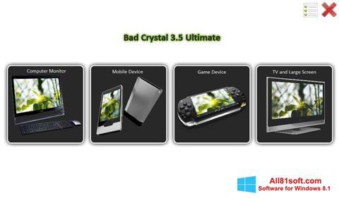 Screenshot Bad Crystal Windows 8.1
