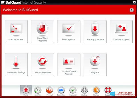 Screenshot BullGuard Windows 8.1