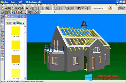 Screenshot Arcon Windows 8.1