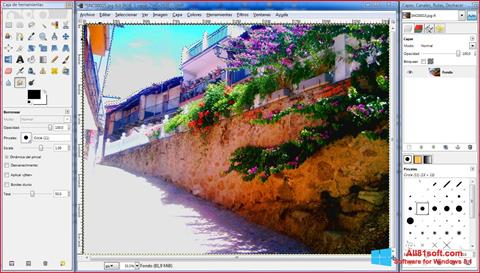 Screenshot GIMP Windows 8.1