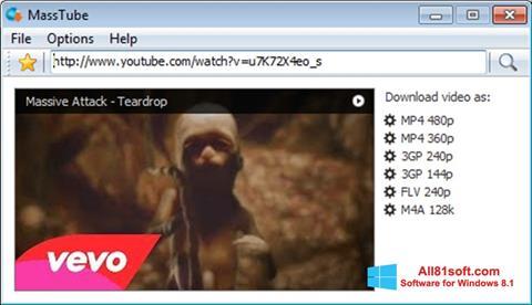 Screenshot MassTube Windows 8.1