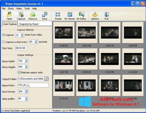 Screenshot SnapShot Windows 8.1