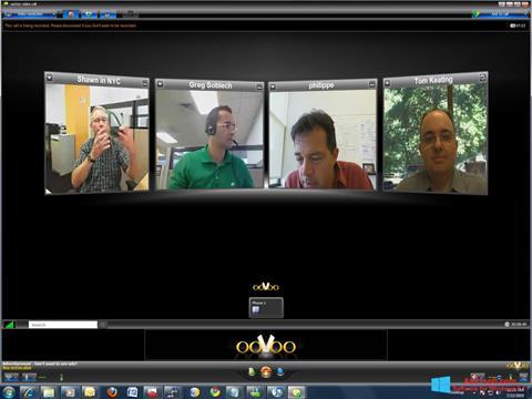 Screenshot ooVoo Windows 8.1