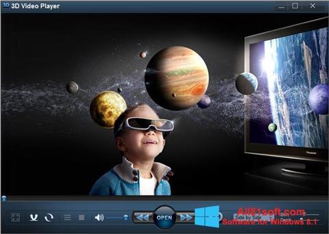 Screenshot 3D Video Player Windows 8.1