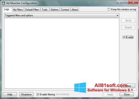 Screenshot Ad Muncher Windows 8.1