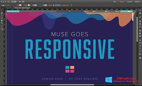 Screenshot Adobe Muse Windows 8.1