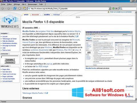 Screenshot Mozilla Firefox Windows 8.1