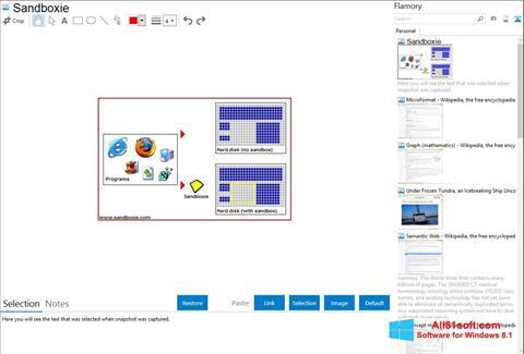 Screenshot Sandboxie Windows 8.1