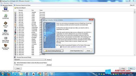 Screenshot BadCopy Pro Windows 8.1