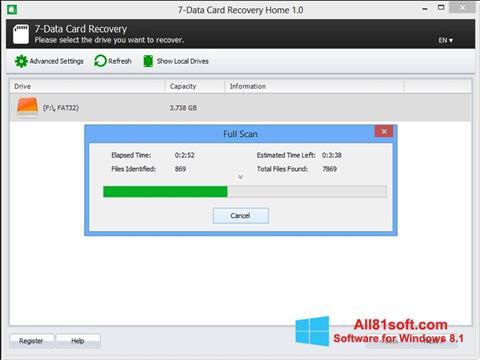 Screenshot CardRecovery Windows 8.1