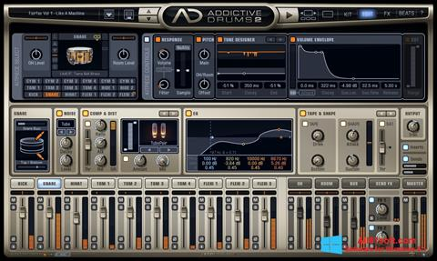 Screenshot Addictive Drums Windows 8.1