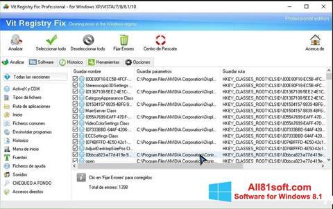 Screenshot Vit Registry Fix Windows 8.1
