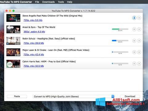 Screenshot Free YouTube to MP3 Converter Windows 8.1