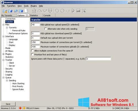 Screenshot Vuze Windows 8.1