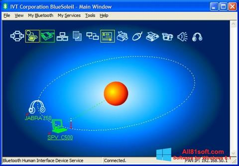 Screenshot BlueSoleil Windows 8.1