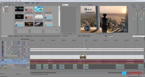Screenshot Sony Vegas Pro Windows 8.1