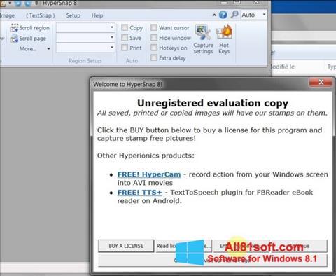 Screenshot HyperSnap Windows 8.1