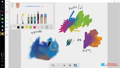 Screenshot Fresh Paint Windows 8.1