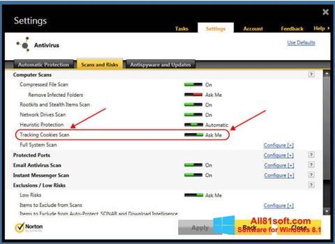 Screenshot Norton Windows 8.1