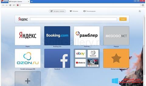 Screenshot Opera Next Windows 8.1