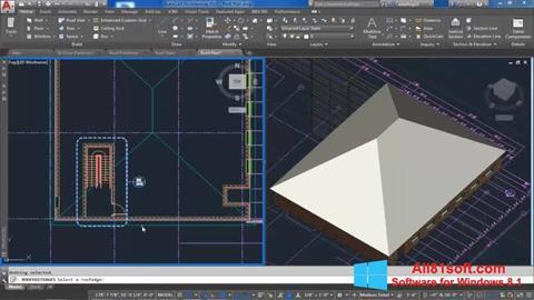 Screenshot AutoCAD Architecture Windows 8.1