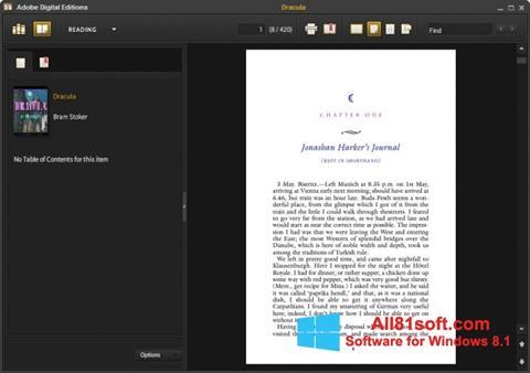 Screenshot Adobe Digital Editions Windows 8.1
