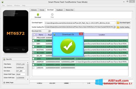 Screenshot FlashTool Windows 8.1