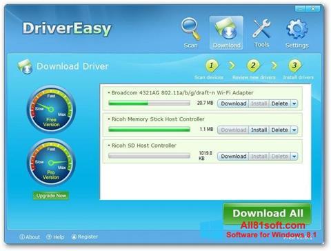 Screenshot Driver Easy Windows 8.1