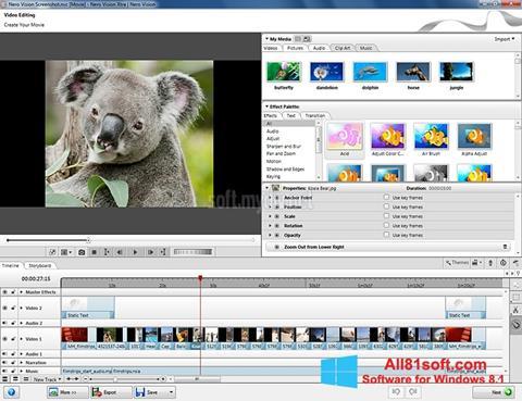 Screenshot Nero Vision Windows 8.1
