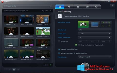 Screenshot Action! Windows 8.1
