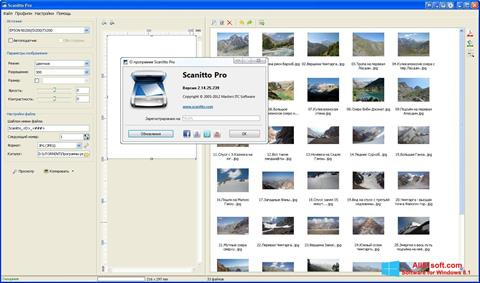 Screenshot Scanitto Pro Windows 8.1