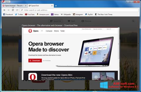 Screenshot Opera Developer Windows 8.1