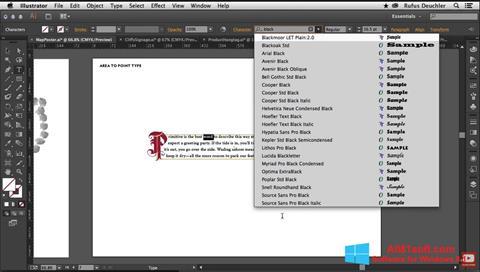 Screenshot Adobe Illustrator Windows 8.1