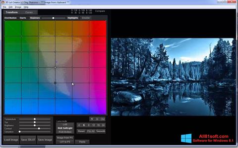 Screenshot 3D LUT Creator Windows 8.1