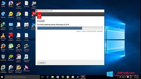 Screenshot Adobe Photoshop CC Windows 8.1