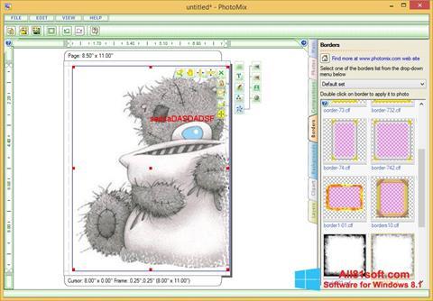 Screenshot PhotoMix Collage Windows 8.1