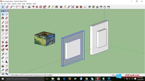 Screenshot SketchUp Make Windows 8.1